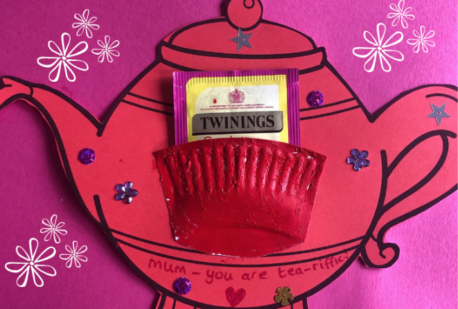teapot craft mother's day