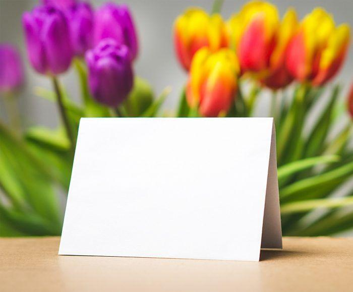 flowers card mother's day