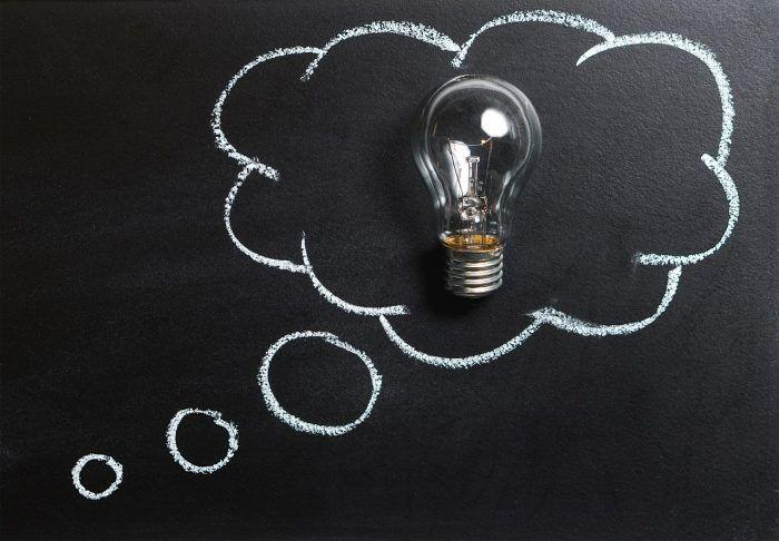 thinking ideas lightbulb