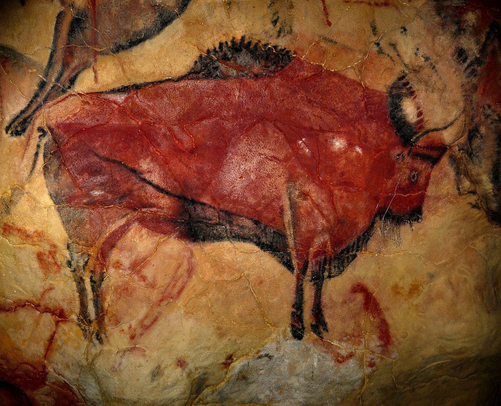 cave art paint